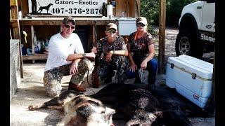 Hog Hunt WENT WILD at Stones Guided Hunts, Florida short version