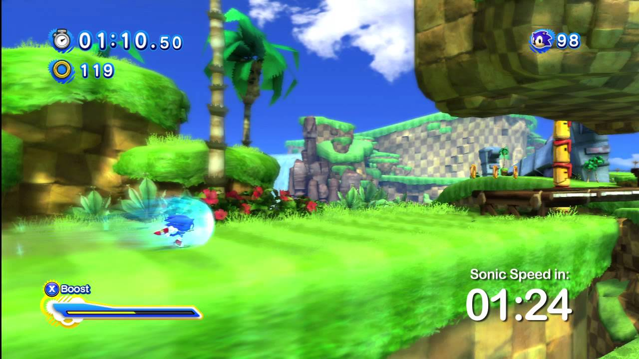 Nov 2, 2011 Run Green Hill Zone in Under 1:50 and Collect Some