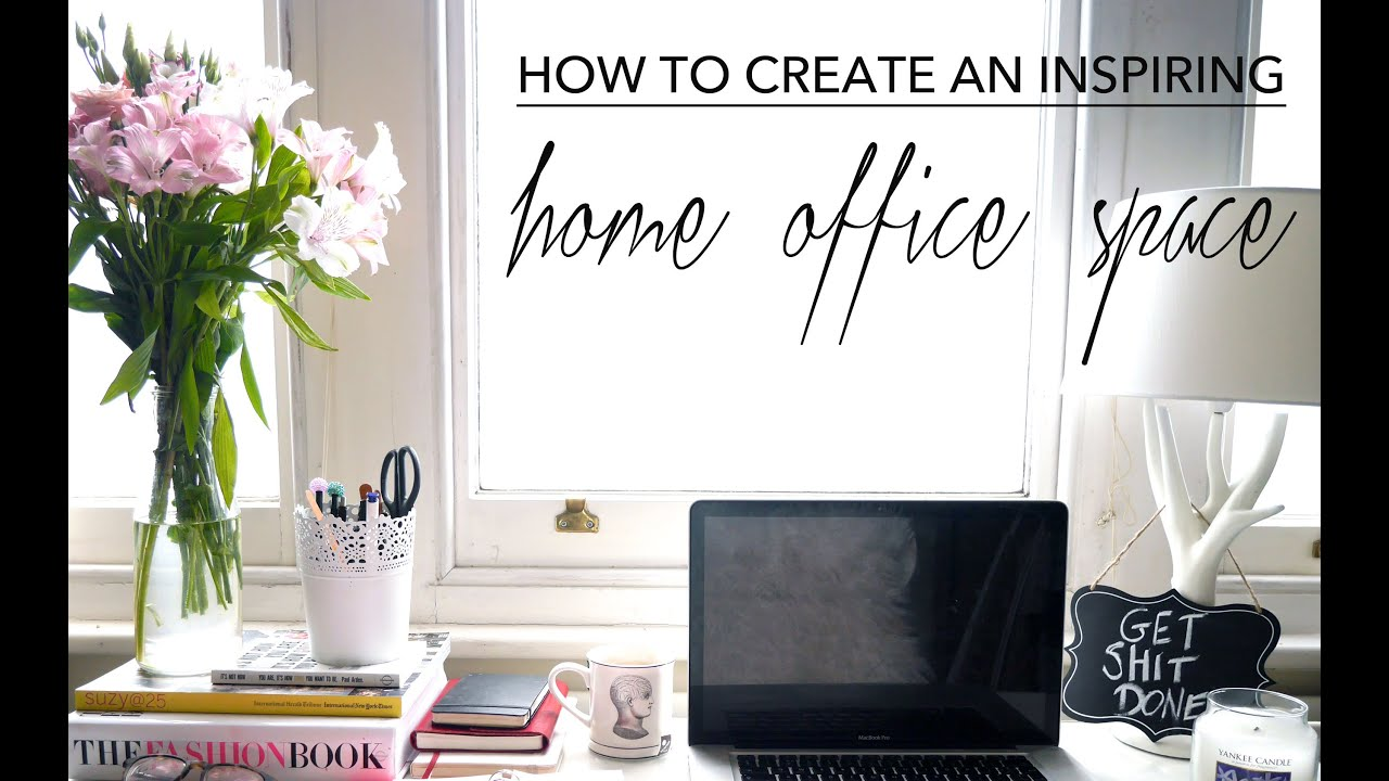 Nice How To Create At Inspiring Home Office Space | Full Time Blogging | Fashion  Slave