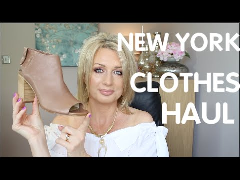 NEW YORK HAUL (CLOTHES, SHOES, JEWELLERY)