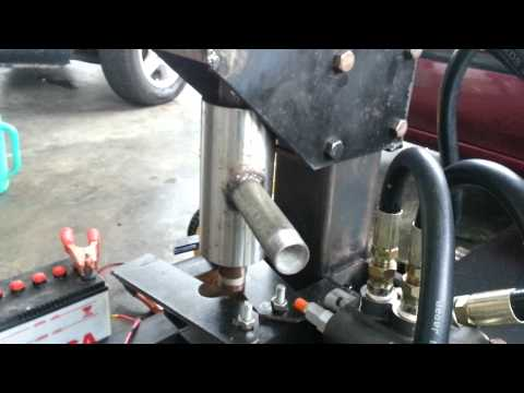 PORTABLE HYDRAULIC TUBEWELL DRILLING MACHINE PART 4