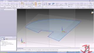 Tutorial Solid edge ST2 ST3 ST4 utilizando la tecnología síncrona o Sincronous technology Pieza 5