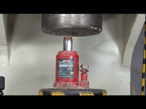 Can The Jack Withstand 100 Tons Of Hydraulic Pressure?