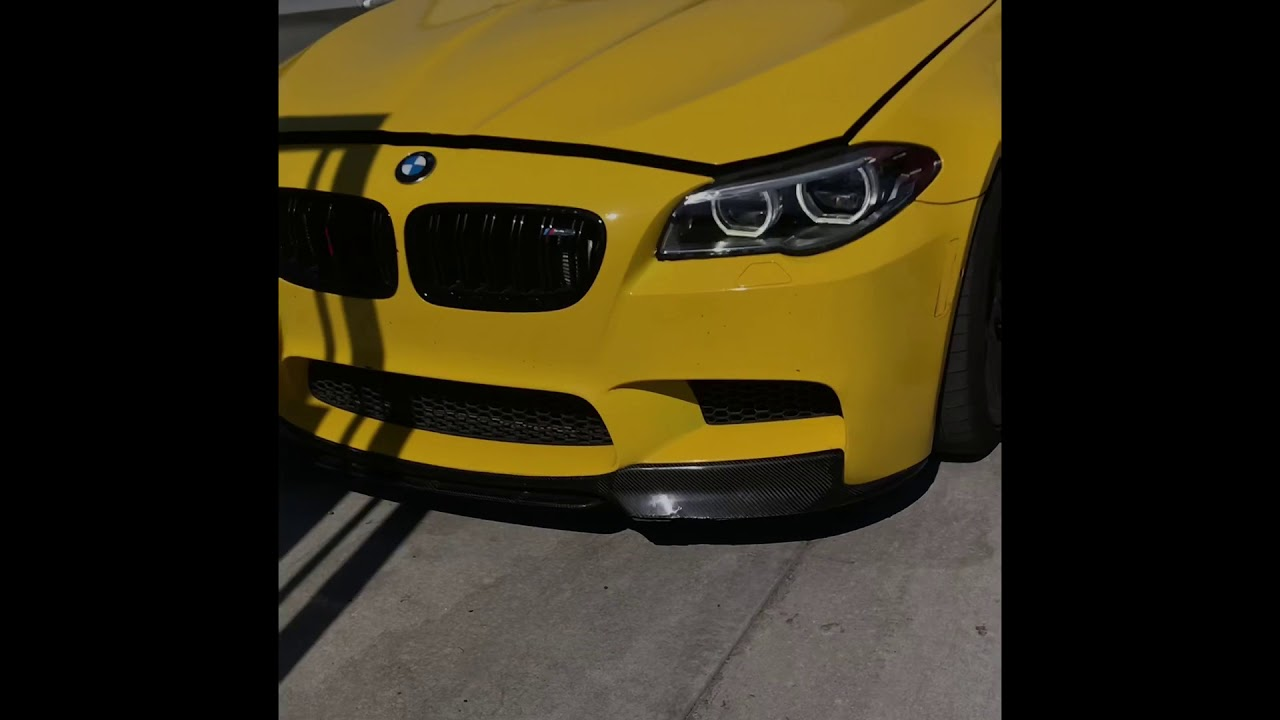 Bmw M6 Downpipes Sound And M5 Youtube
