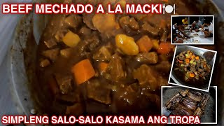 PART 2 OF 2: BEEF MECHADO AT SIMPLENG SALO-SALO SA BAHAY | MARCH 31, 2021.
