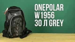 Розпакування Onepolar W1956 30 л Grey