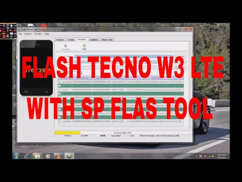 how to flash tecno w3 lite with sp flash tool - YouTube