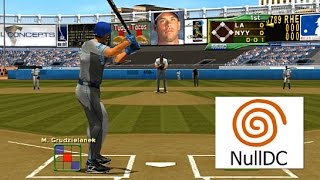 World Series Baseball 2K2 Dreamcast Widescreen HD 60fps nulldc (Sega WSB2k2, 2001)