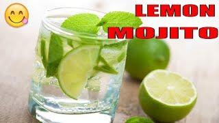 Mocktail- Lemon Mojito || Lemon Mojito Recipe