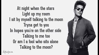 Download lagu Bruno Mars - Talking To The Moon (Lyrics) 🎵