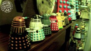 Meet The Record Breakers:  Rob Hull - owner of the largest collection of Daleks