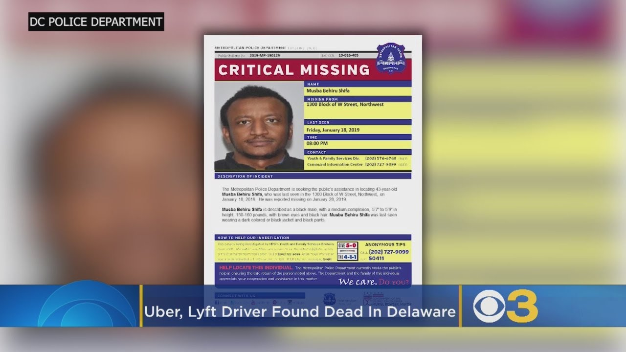 Missing Toddler, Who Was Allegedly Kidnapped by an Uber Driver, Found Dead