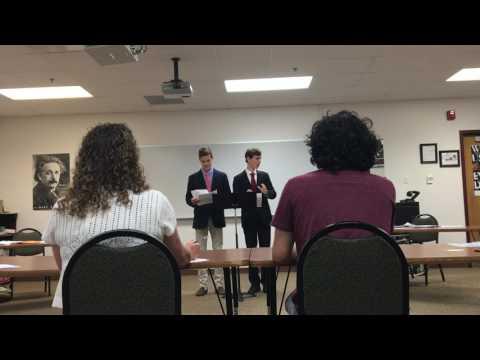2016 Lincoln Douglas National Quarter Finals - Thomas Keith v. Austin Janik  (Valor)