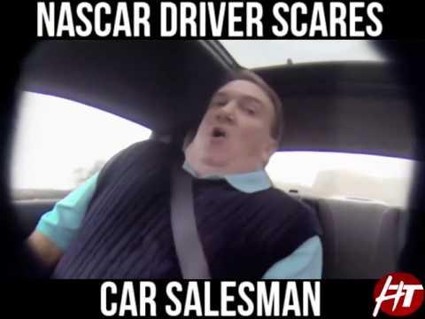 Professional Nascar Driver Jeff Gordon Pranks Car Salesman! Wait Til The End!