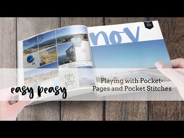 EasyPeasy - Playing with Pocket Pages and Pocket Stitches