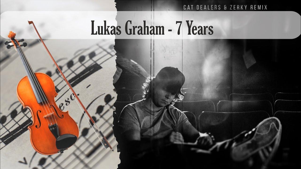 Partitura Lukas Graham - 7 Years Violín