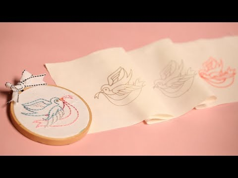 photo about Printable Embroidery Transfer Paper named A few Methods toward Go Embroidery Designs - YouTube