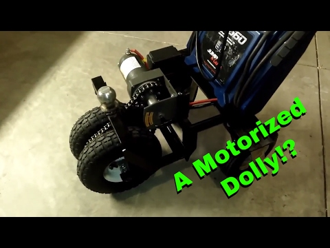 DIY Motorized Trailer Dolly / Trailer Mule