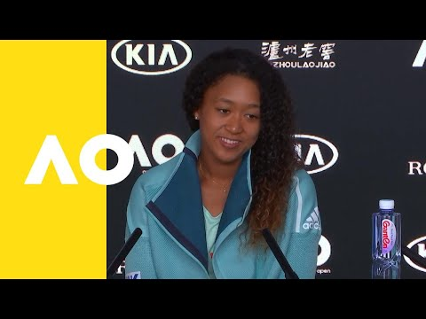 Naomi Osaka press conference (1R)   Australian Open 2019