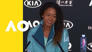 Naomi Osaka press conference (1R) | Australian Open 2019