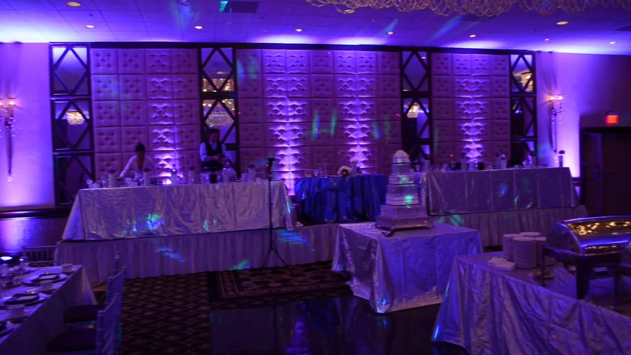 chicago wedding uplighting  projector screen rental  gobo monogram  great prices    773 744