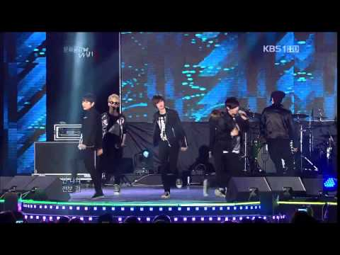 121012 TEEN TOP - Be ma girl + Crazy @Cultural Space Butterfly Special