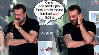 Sanjay Dutt's BEST INSULT To Media For Spreading False News About Him As Shown In Sanju Movie