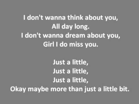Just A Little - Tinie Tempah/ Lyrics