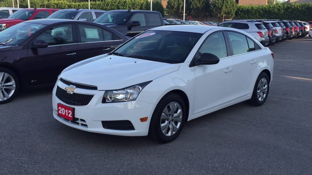 Cruze chevy cruze 2012 : 2012 Chevrolet Cruze LS Summit White Roy Nichols Motors Courtice ...