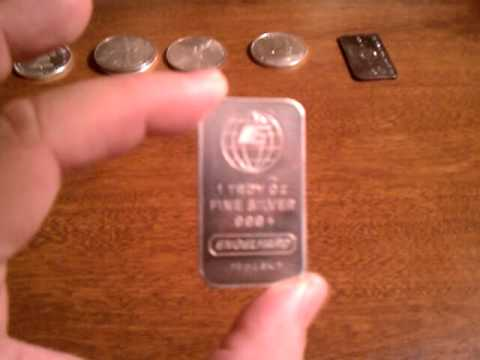 Silver Bullion Rounds & Bars - Which is the Better Investment and Worth More Money?