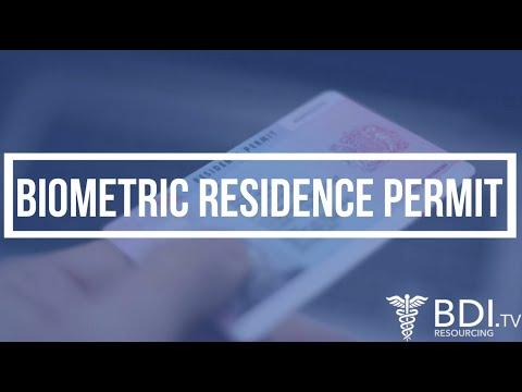 Biometric Residence Permits (BRP) | BDI Resourcing
