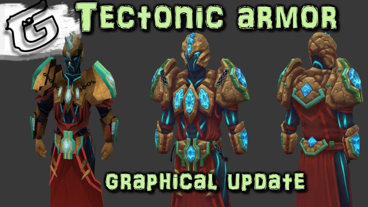 Tectonic Armor Graphical Update Coming With Elite Dungeons Youtube