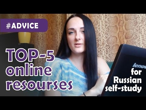TOP-5 online resourses for Russian self-study