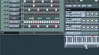 How to make a Basic Eurodance Bass with 3xosc