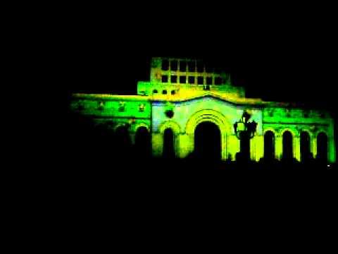 Старый новый 2012 год в Ереване.