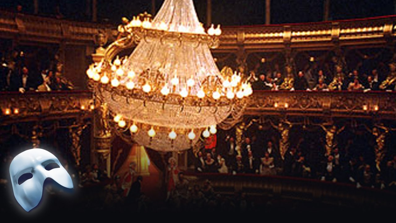The Chandelier Phantom By Numbers Of Opera You