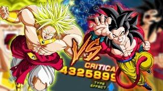 Sa20 lr broly vs sa10 ssj4 goku! who's better? 100% potential | dokkan battle | global | jpn |