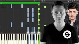 Borgeous & Zaeden - Yesterday (PIANO TUTORIAL)