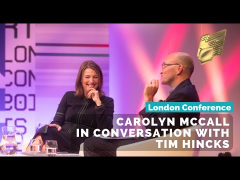 ITV's Chief Executive Carolyn McCall in conversation with Tim Hincks | RTS London