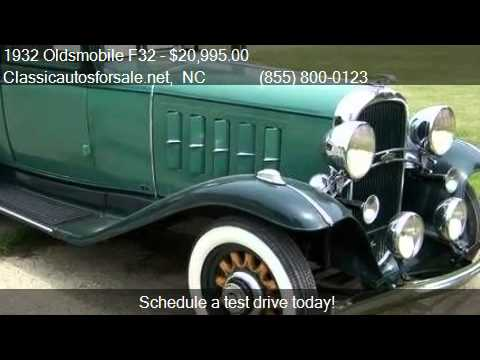 1932 Oldsmobile F32 for sale in Nationwide NC 27603 at Cla