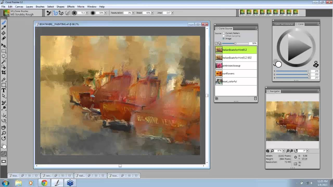 Corel Painter  Auto Paint