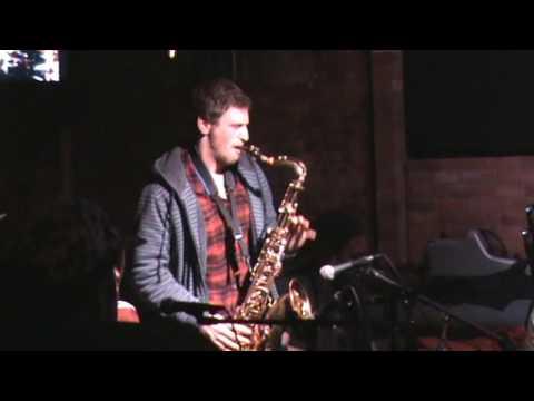Part 2 The Great Jesse Klirfeld Trumpet & Rich Bomzer Sax player The VILLAGE UNDERGROUND BAND PART 2