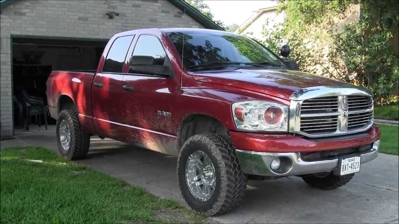 New Ram Truck >> 2008 Dodge Ram 1500 4.7L Flowmaster Exhaust - YouTube