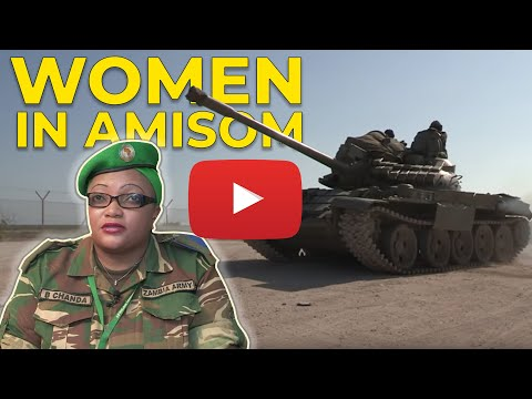 WOMEN IN AMISOM MILITARY