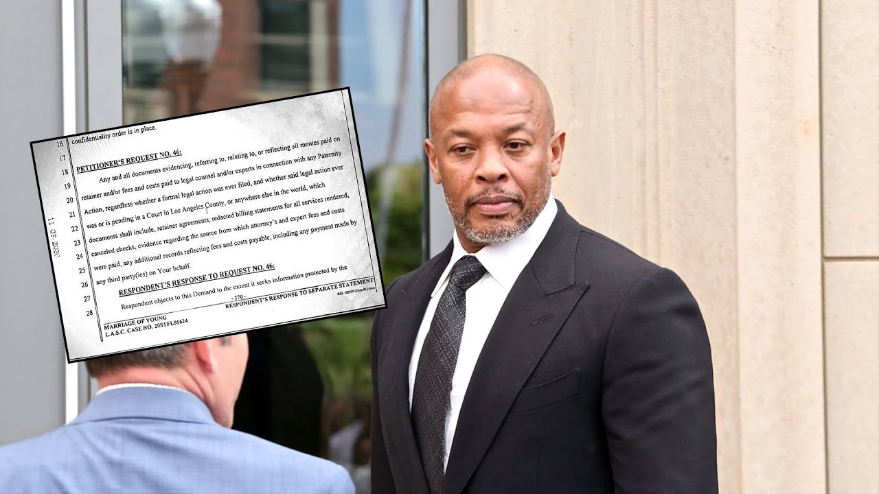 Dr. Dre Ordered To Pay Ex-Wife $3.5 Million A Year... Documents Reveal $260 Million Spent In 3 Years