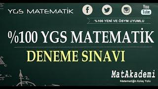 %100 YGS Matematik Denemesi