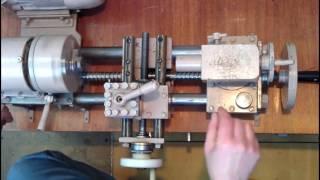 видео Самодельный токарный станок по металлу