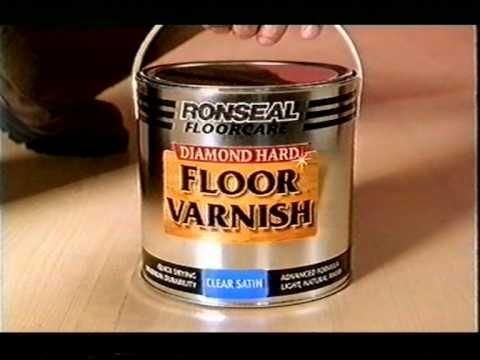 Ronseal Diamond Hard Floor Varnish Advert Youtube