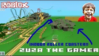 INDOOR ROLLER COASTER | THEME PARK TYCOON 2 | ROBLOX | LEARN HOW TO BUILD ONE JUST LIKE THIS