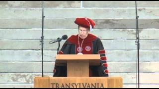 Inaugural Address, Transylvania President R. Owen Williams